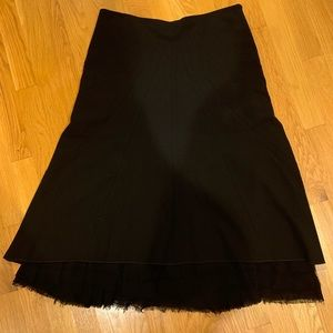 Anthropologie Elevenses layered skirt NWOT, size 6